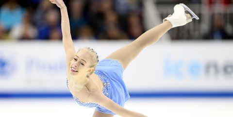 Sports, Ice skating, Figure skating, Figure skate, Skating, Axel jump, Ice dancing, Individual sports, Recreation, Jumping,