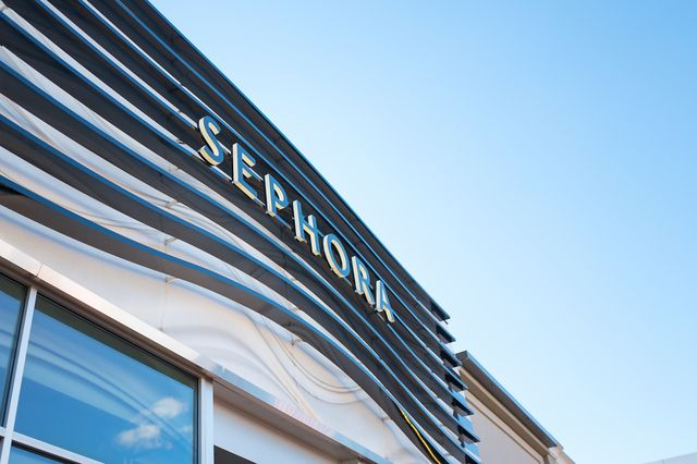 facade with signage at the luxury cosmetics store sephora, walnut creek, california, november 17, 2017 photo by smith collectiongadogetty images