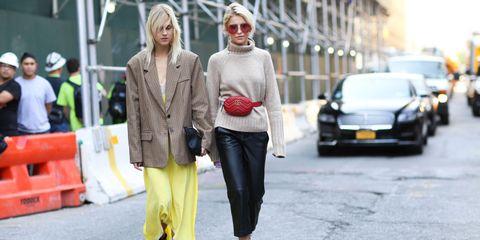 Street fashion, Photograph, Yellow, Fashion, Snapshot, Pedestrian, Street, Footwear, Outerwear, Infrastructure,