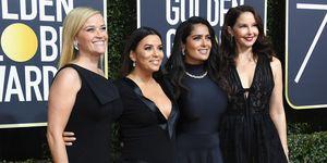 Golden Globes 2018 red carpet blackout
