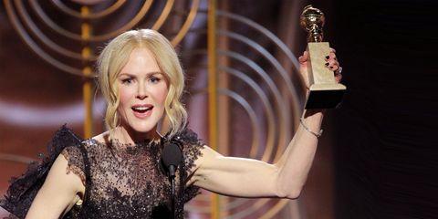Nicole Kidman Golden Globes Speech