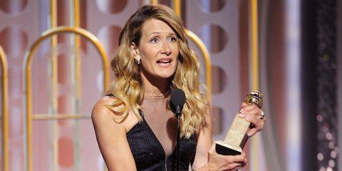 Laura Dern Golden Globes Speech