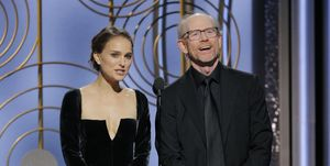 Natalie Portman and Ron Howard