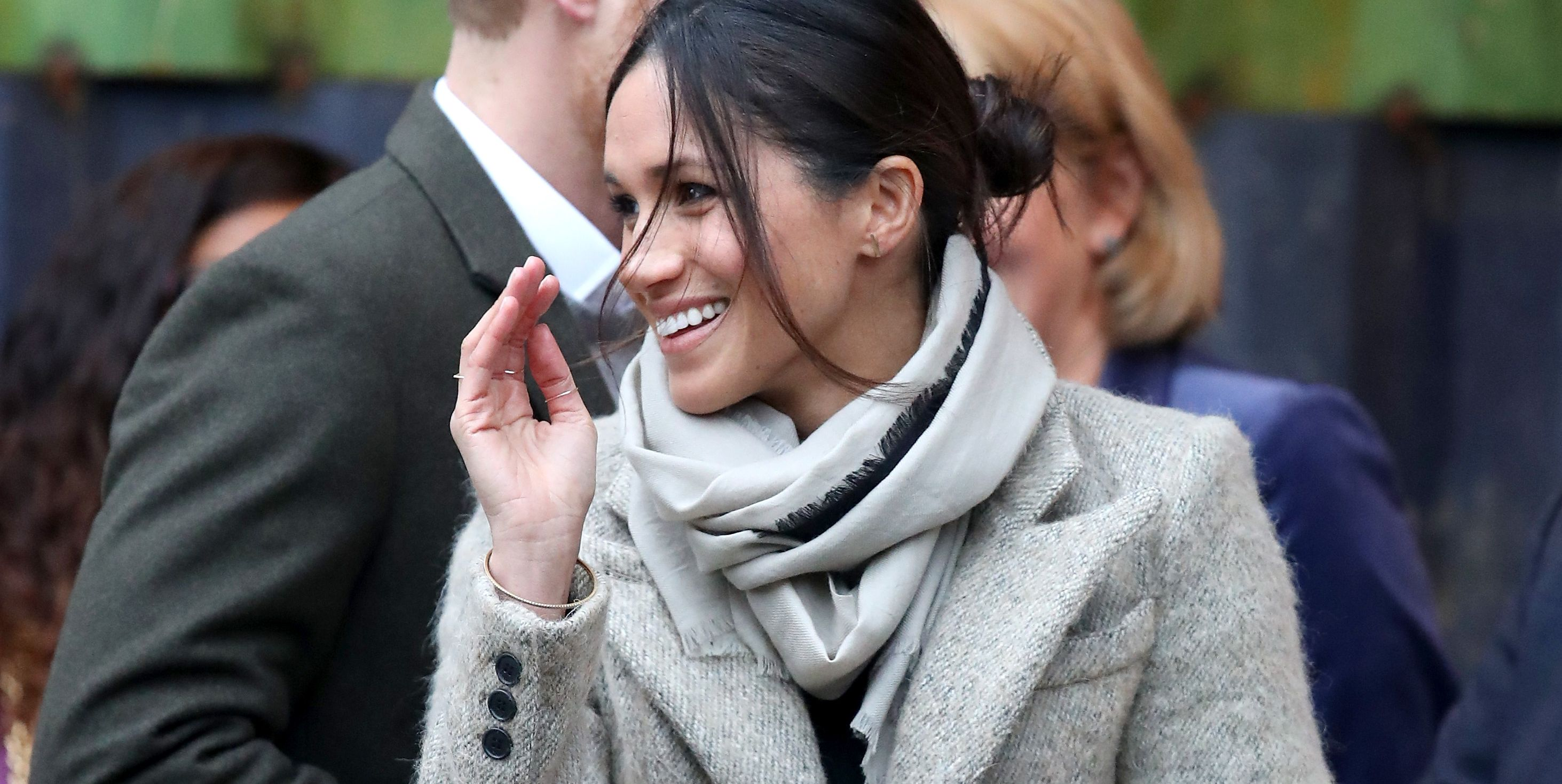 Meghan Markle Has Already Mastered the Royal Wave