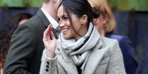 meghan markle wave