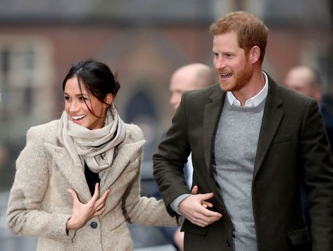 Meghan Markle and Prince Harry |ELLE UK
