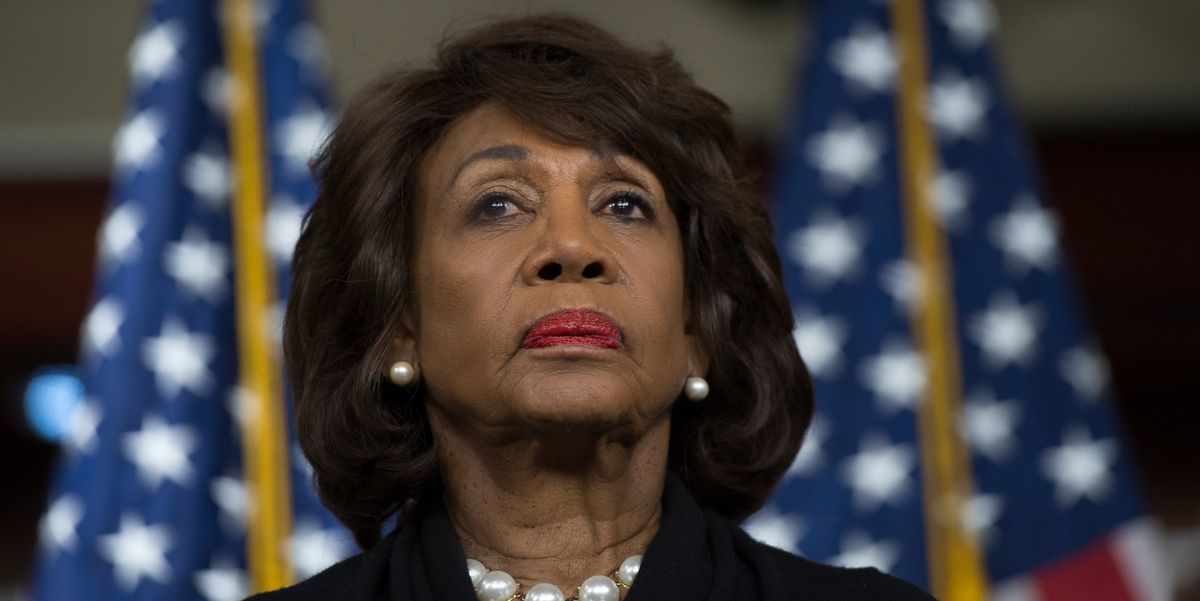 Maxine Waters Was the First to Call for Impeachment. Here's What She's Calling for Next