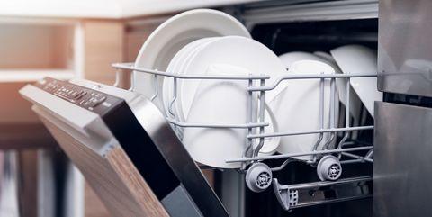 Shelf, Product, Major appliance, Room, Dishwasher, Furniture, Kitchen, Home appliance, Kitchen appliance, Shelving,
