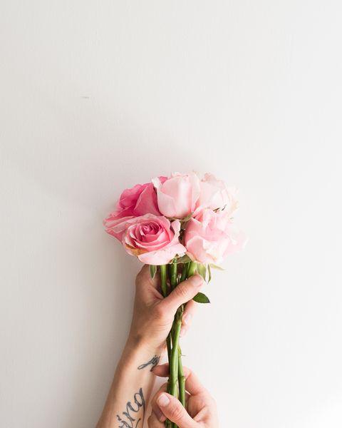 Pink, Flower, Cut flowers, Rose, Bouquet, Plant, Beauty, Garden roses, Rose family, Petal,