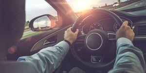 volante coche aceleración