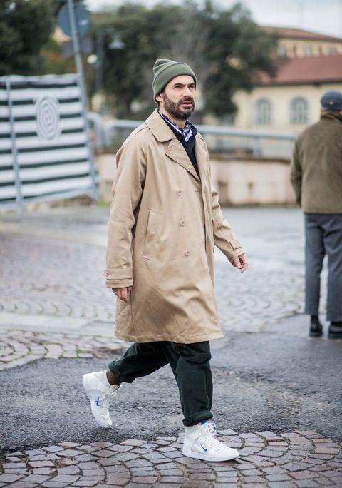 Photograph, Street fashion, Clothing, Snapshot, Fashion, Standing, Coat, Outerwear, Human, Overcoat,