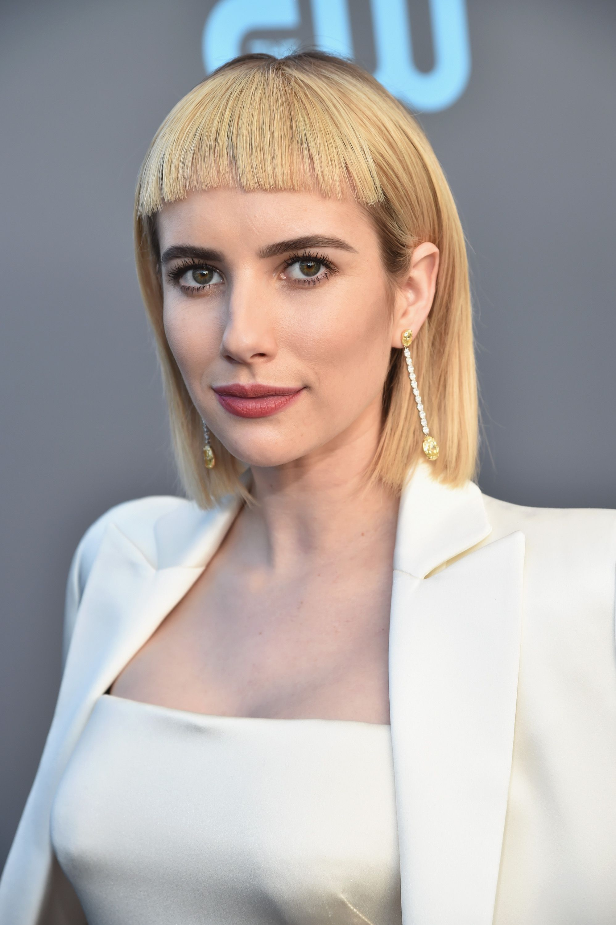 Emma Roberts It takes a brave woman to rock a chic bowl-cut so well.