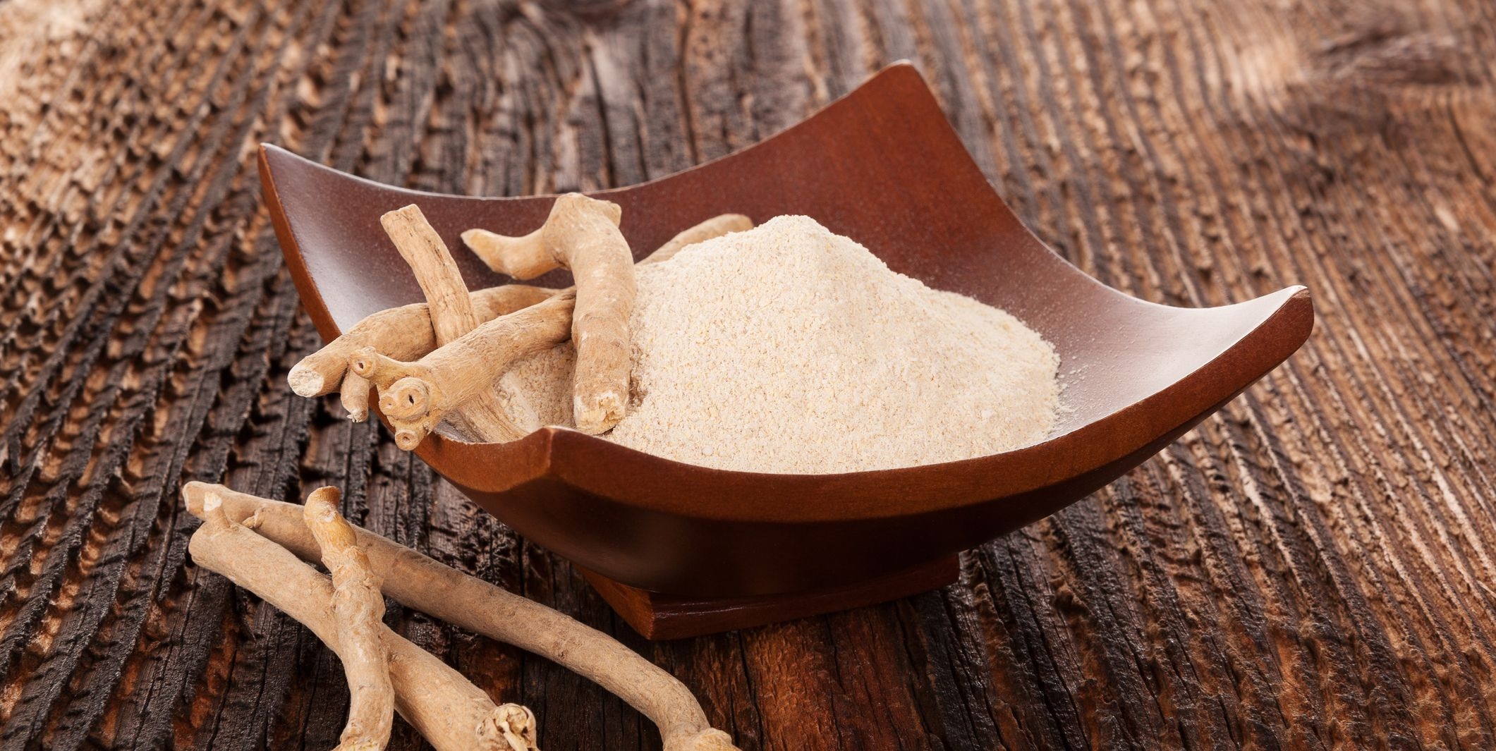 ashwagandha root and powder