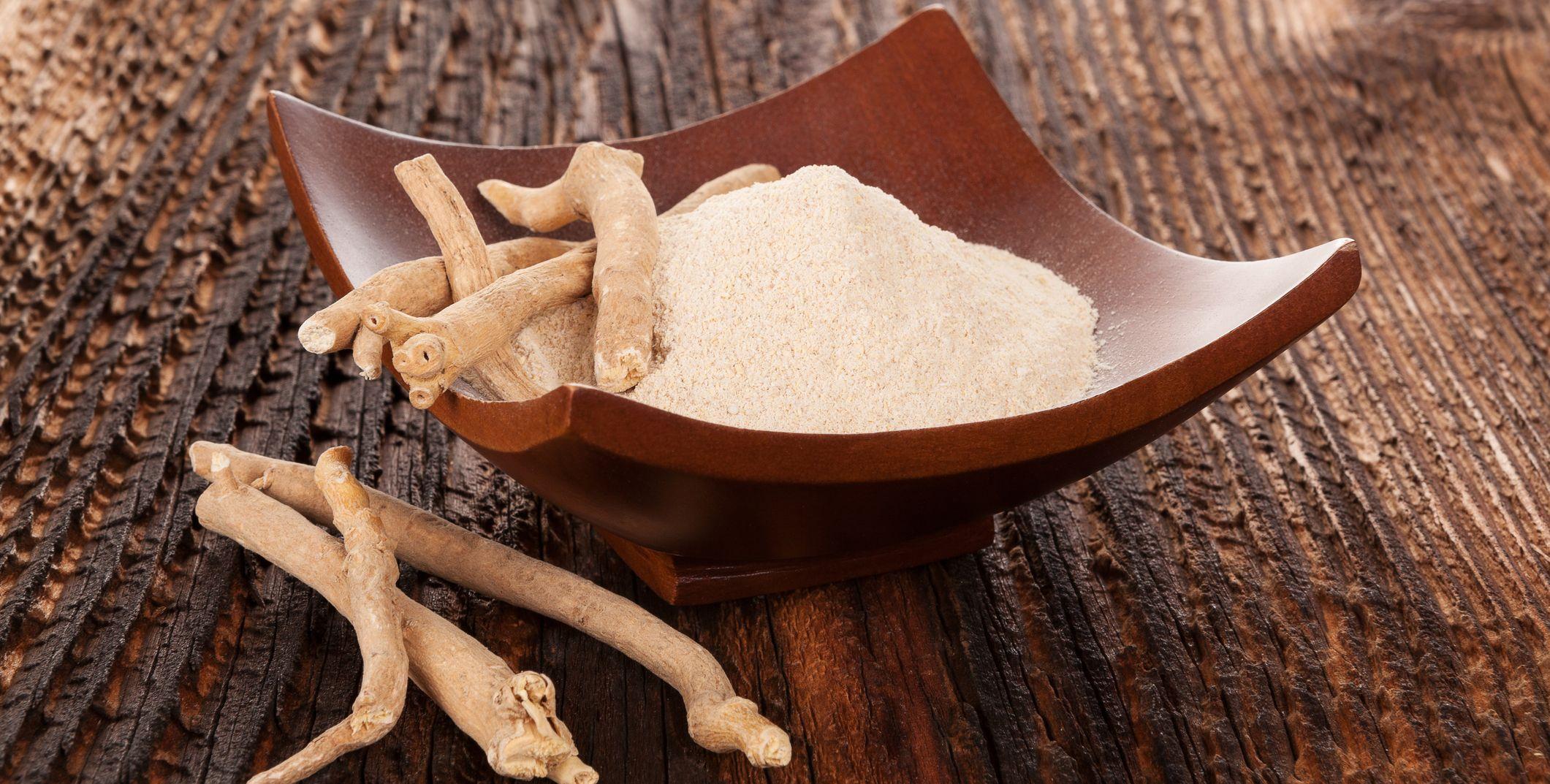 ashwagandha root and powder