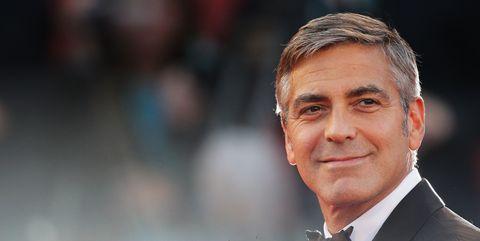 George Clooney red carpet