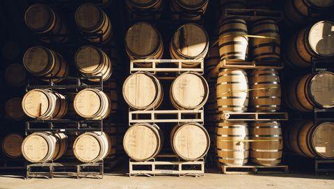 Barrel, Winery, Wine cellar,