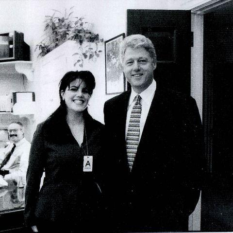 Monica Lewinsky and Bill Clinton - true crime