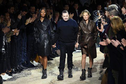 Fashion, Fashion model, Runway, Fashion show, Event, Fashion design, Haute couture, Model, Dress, Crowd,
