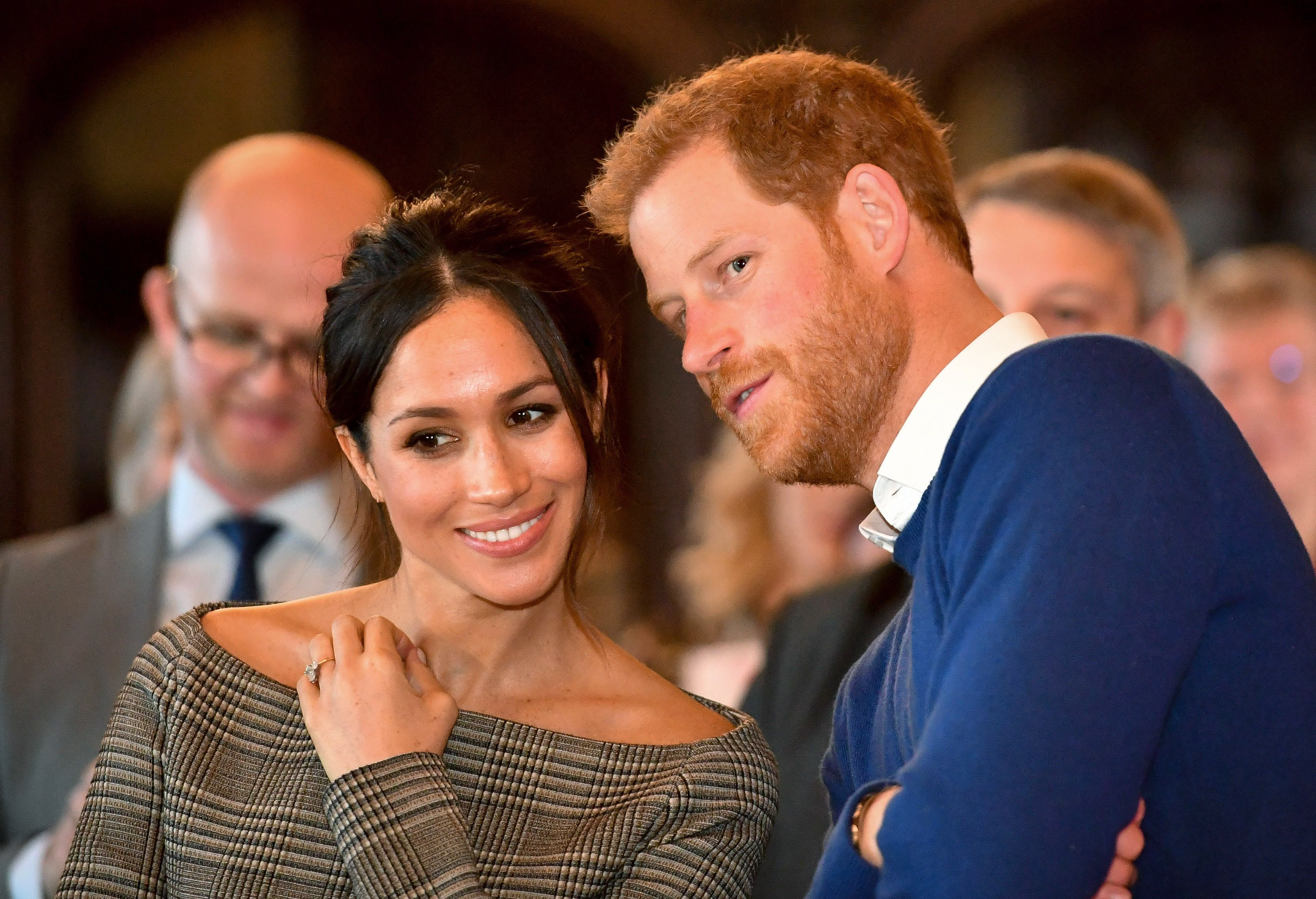 """Prince Harry Is """"Really Missing"""" Meghan Markle and Will Only Stay in England One Week"""
