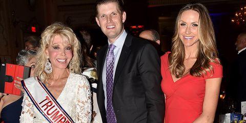 Toni Holt Kramer, Eric Trump, and Lara Trump