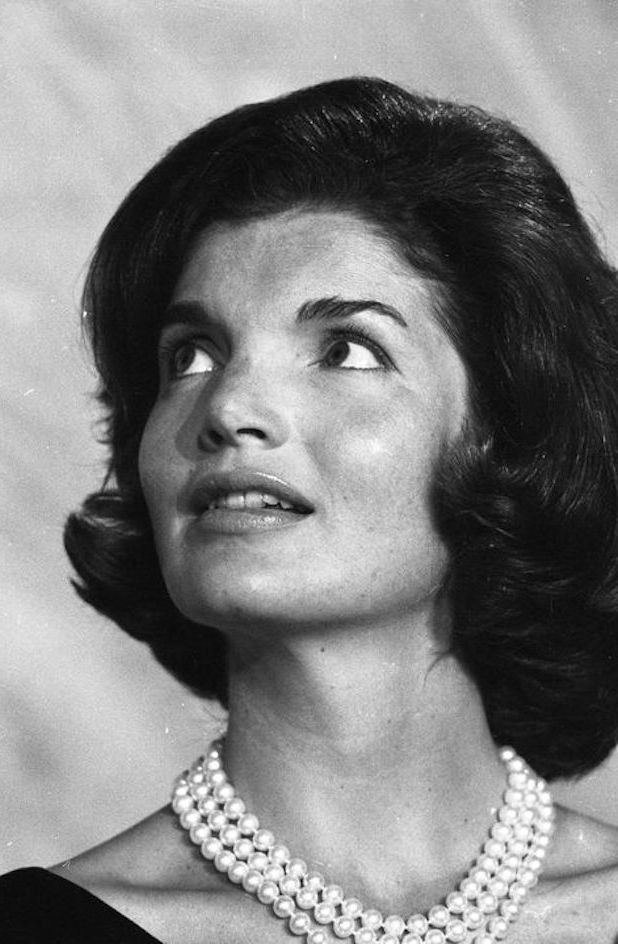 Close-Up Of Jackie Kennedy