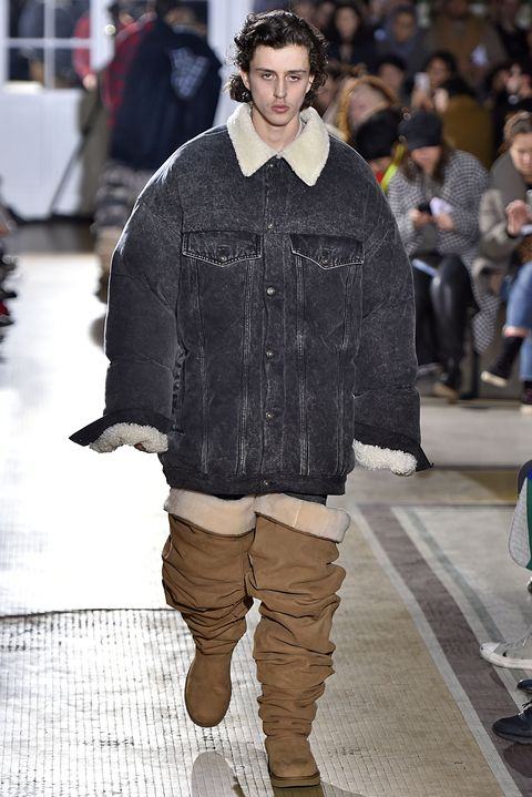 5806bfb5d30 Thigh-High Uggs Make Their Debut at Paris Men's Fashion Week - New ...