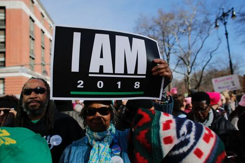 women's march 2018, women's march nyc