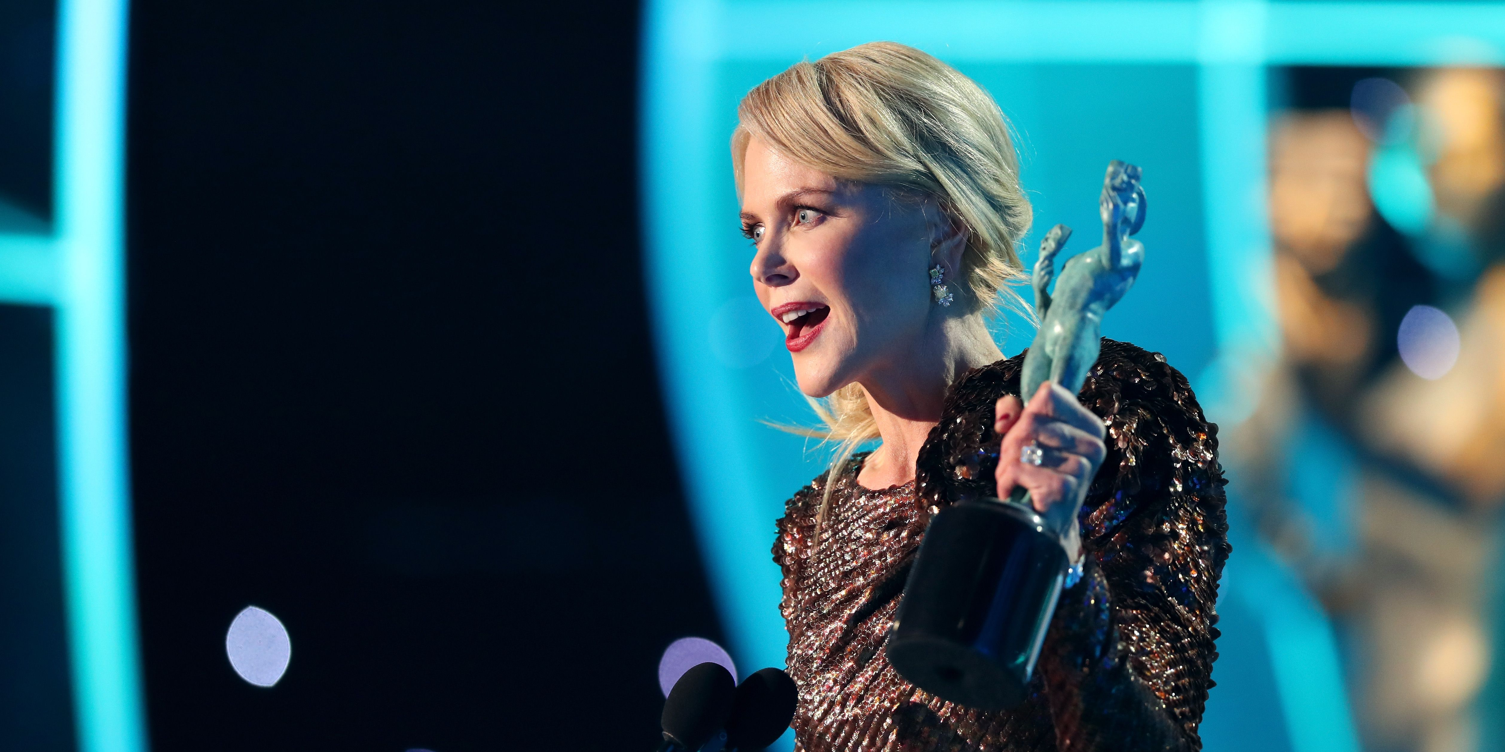 Nicole Kidman speech at the SAG Awards 2018