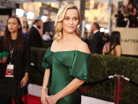 Reese Witherspoon SAG Awards 2018 green dress
