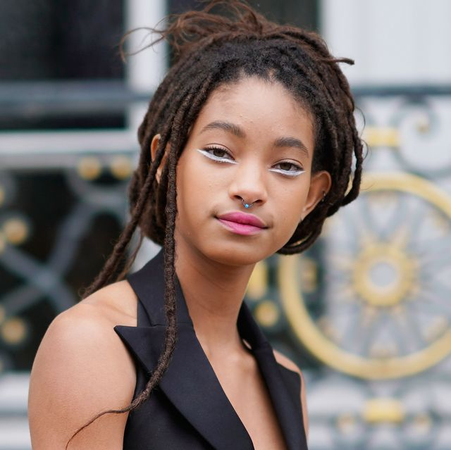 paris, france   january 22  willow smith attends the christian dior haute couture spring summer 2018 show as part of paris fashion week on january 22, 2018 in paris, france  photo by edward berthelotgetty images for christian dior