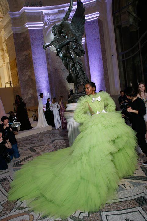 Chartreuse Giambattista Valli Gown Image