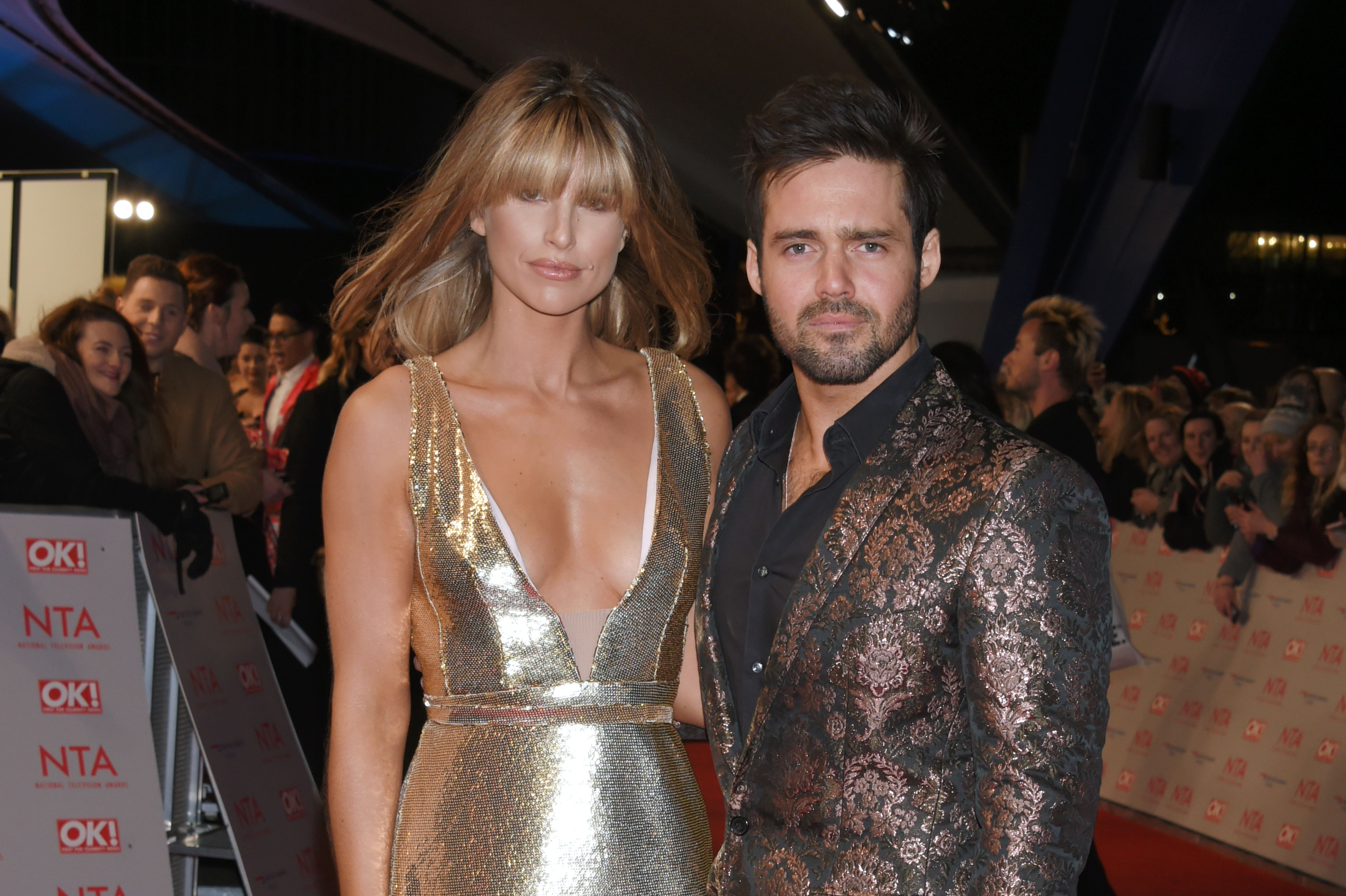 Spencer Matthews and Vogue Williams have welcomed their first child