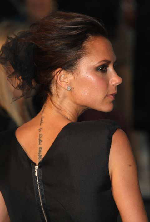 london, england   september 22 victoria beckham arrives at the burberry prorsum springsummer 2010 show at rootstein hopkins parade ground during london fashion week on september 22, 2009 in london, england  photo by chris jacksongetty images