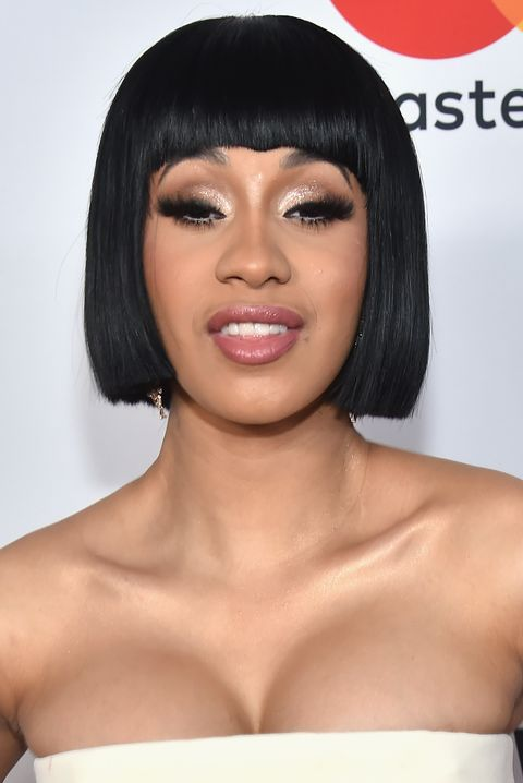 new york, ny   january 27  cardi b attends the clive davis and recording academy pre grammy gala and grammy salute to industry icons honoring jay z on january 27, 2018 in new york city  photo by kevin mazurgetty images for naras