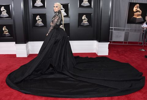 Lady Gaga Channels Khaleesi At The 2018 Grammys Lady