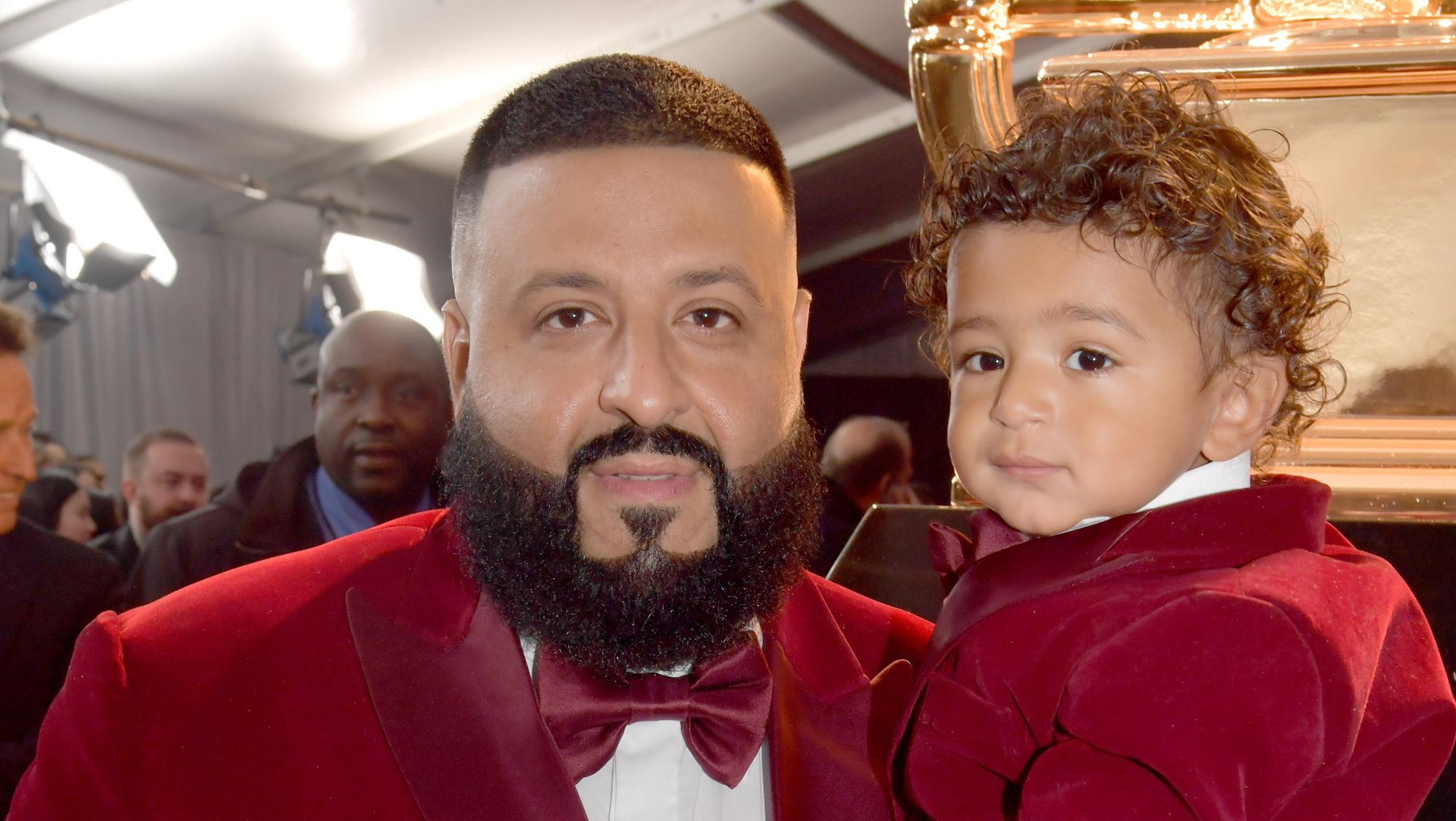 Asahd Khaled Is Completely Unimpressed by Everyone on the Grammy Red Carpet