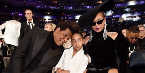 f0a3f8b969b Beyoncé and Blue Ivy Showed Up Mid-Grammys Looking Fabulous