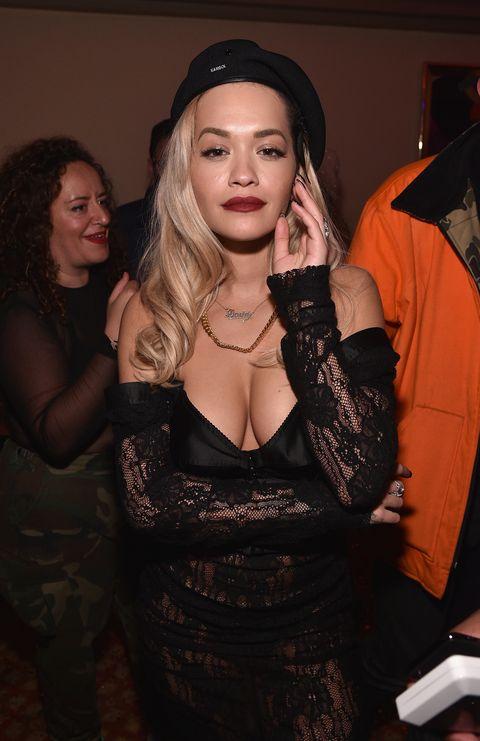 Fashion, Textile, Black hair, Long hair, Dress, See-through clothing, Little black dress, Fashion design,