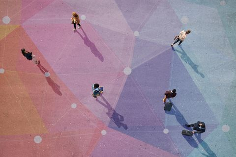 Pink, Line, Sky, Shadow, Recreation,