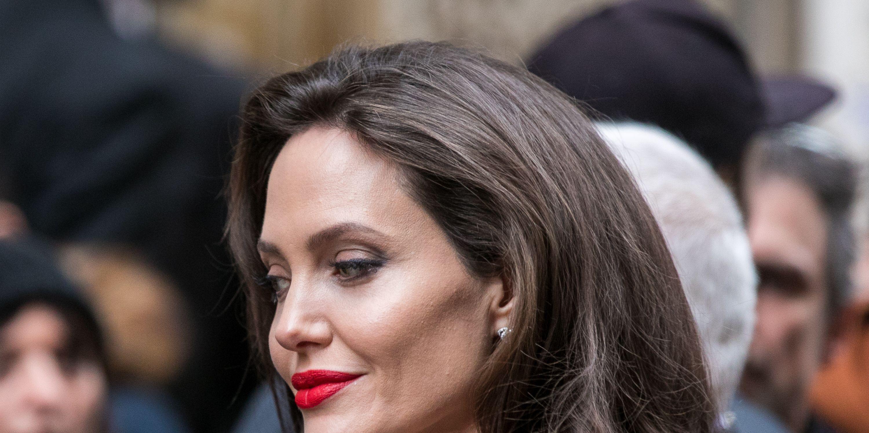 Angelina Jolie Sighting in Paris