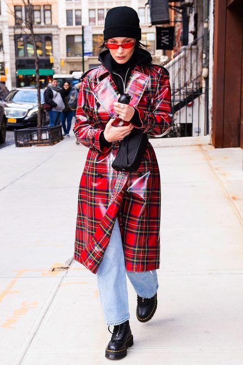 Plaid, Tartan, Street fashion, Pattern, Clothing, Fashion, Textile, Design, Snapshot, Outerwear,