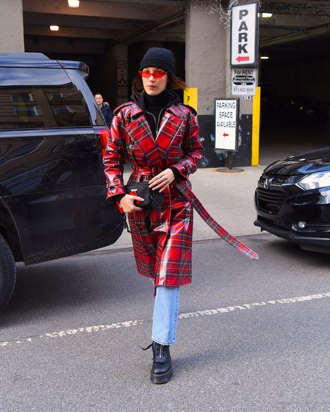 Plaid, Tartan, Street fashion, Clothing, Fashion, Pattern, Red, Automotive design, Snapshot, Textile,