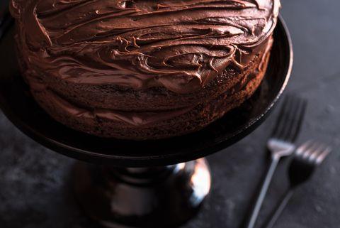 Chocolate cake, Food, Ganache, Cake, Dessert, Chocolate, Cuisine, Dish, Buttercream, Icing,