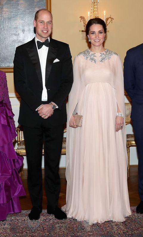 Kate Middleton in Alexander McQueen Evening Gown in Oslo - The ...