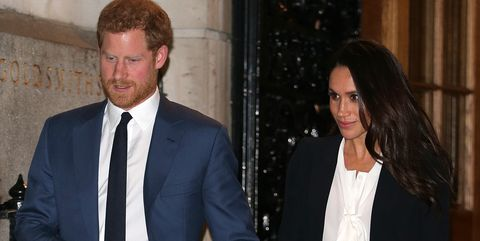 Prince Harry and Meghan Markle at the Endeavour Awards