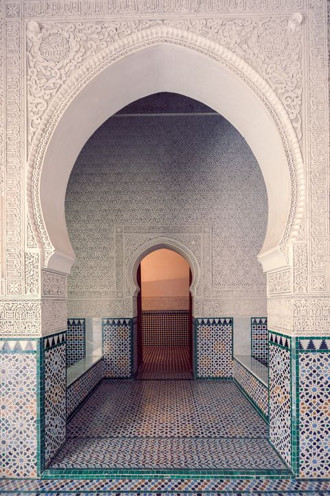 zianide royal palace, located in tlemcen in algeria built in the middle ages by the kings zianides in 1248 tlemcen, algeria