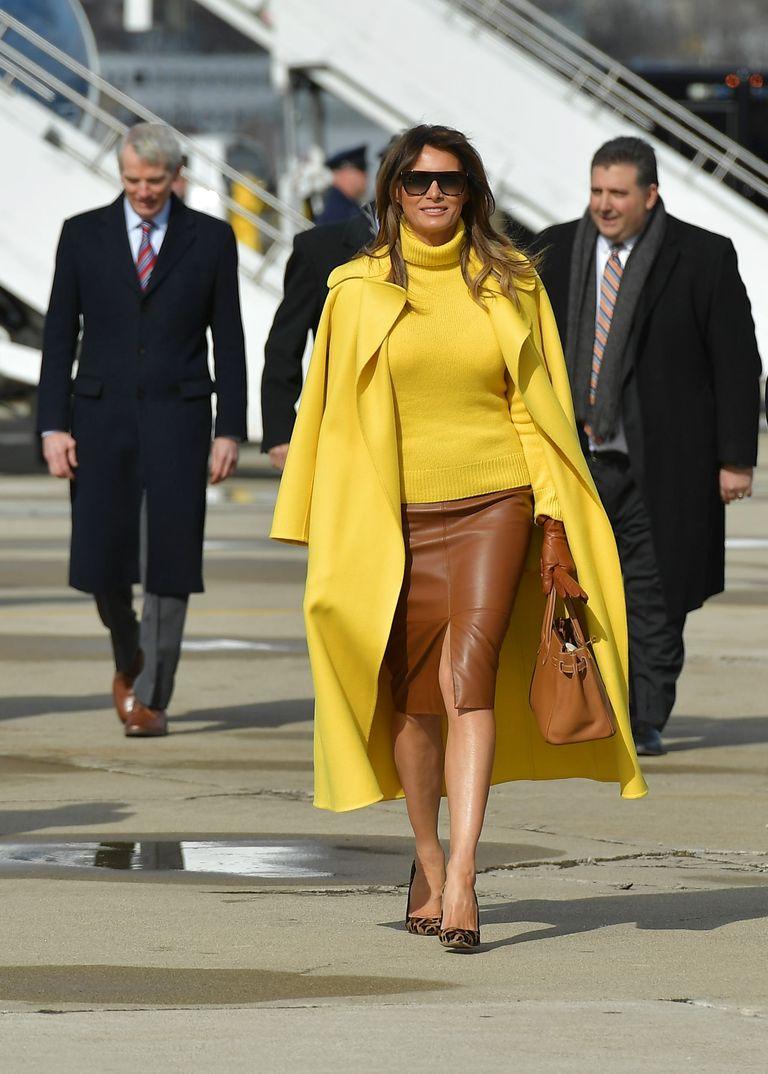 Меланья Трамп: секреты стильного гардероба первой леди