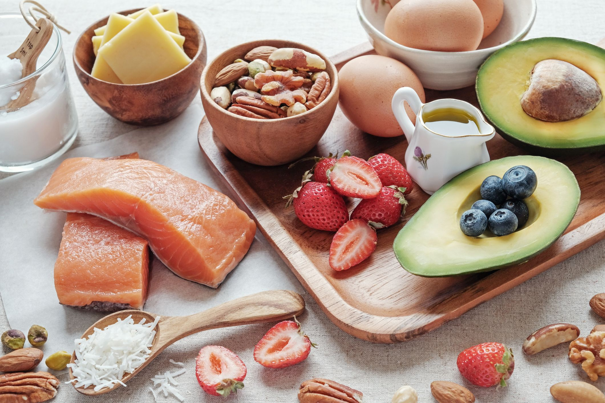 What can you eat for lunch on the keto diet