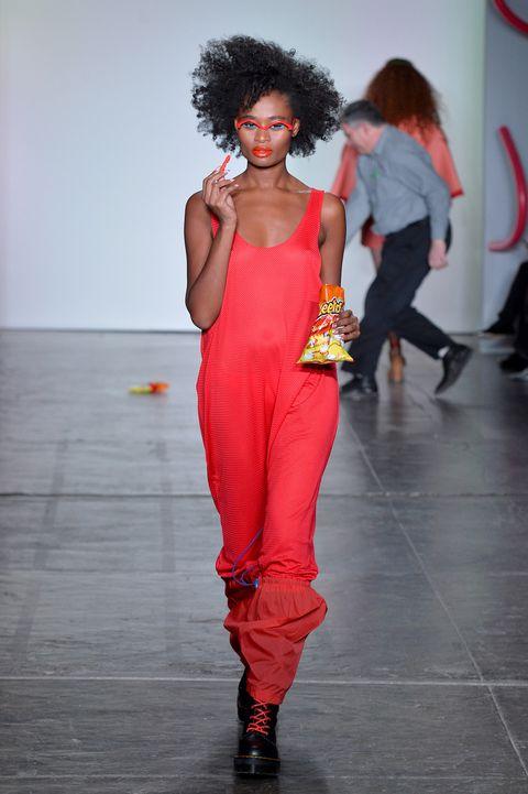 e901e36b098 Chromat Cheetos On The Runway - Chromat Fall 2018 New York Fashion Week