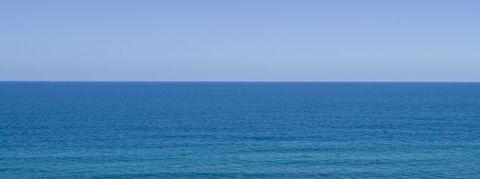 Body of water, Sea, Ocean, Horizon, Blue, Sky, Wave, Azure, Calm, Coast,